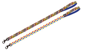"""Circus Days "" adjustable dog leash"