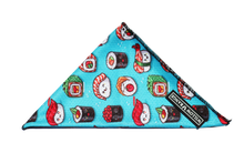 "Load image into Gallery viewer, ""Sushi Addict"" Cooling Bandana"