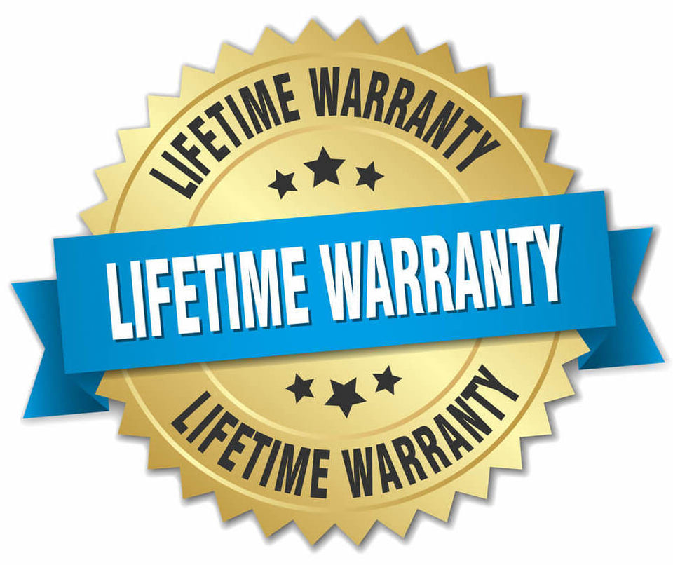 Lifetime Warranty + Priority Processing