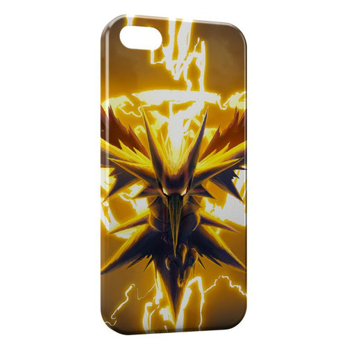 Fundas iPhone 8 & 8 Plus Zapdos Pokemon Oiseau 2