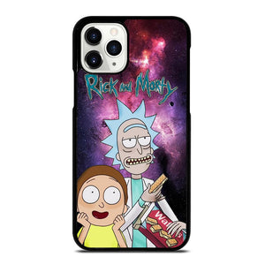 coque custodia cover fundas iphone 11 pro max 5 6 7 8 plus x xs xr se2020 C29655 RICK AND MORTY NEBULA iPhone 11 Pro Case