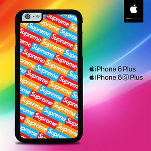 Sticker Supreme Pattern O0776 fundas iPhone 6 Plus, 6S Plus