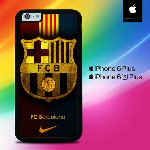 FC Barcelona O7529 fundas iPhone 6 Plus, 6S Plus