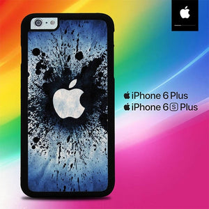 Flower petals glitter O7548 fundas iPhone 6 Plus, 6S Plus