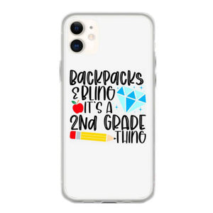backpacks bling it s a 2nd grade thing fundas iphone 11