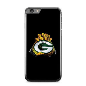 GREENBAY PACKERS GLOVES B0233 fundas iPhone 6 Plus, 6S Plus
