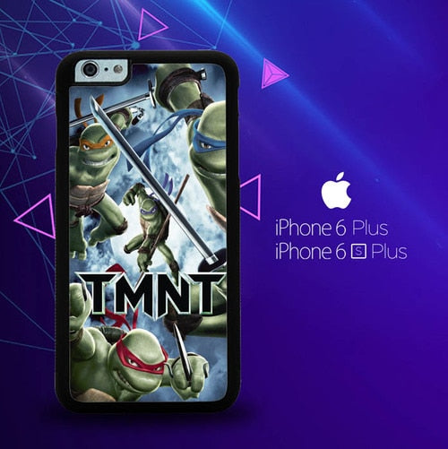 Tmnt Teenage Mutant Ninja Turtle  Z0654 fundas iPhone 6 Plus, 6S Plus