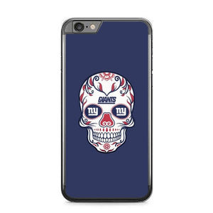 New York Giants Skull X00387 fundas iPhone 6 Plus, 6S Plus