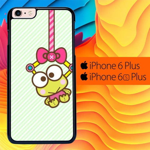 Keroppi Frog Wallpaper L0381 fundas iPhone 6 Plus, 6S Plus