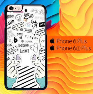 Fangirl Kpop L0673 fundas iPhone 6 Plus, 6S Plus