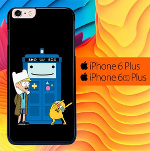 Adventure Time Doctor Who Gravity Falls L1121 fundas iPhone 6 Plus, 6S Plus