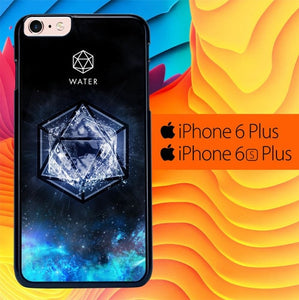 Sacred Geometry Water Symbol L1286 fundas iPhone 6 Plus, 6S Plus