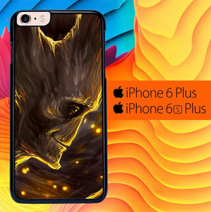 Guardians Of The Galaxy Treeman Groot L1418 fundas iPhone 6 Plus, 6S Plus