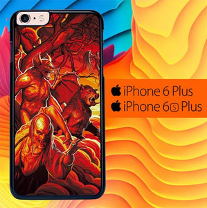 Hellboy Art L2732 fundas iPhone 6 Plus, 6S Plus