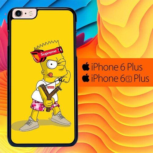Explore Bart Simpson Supreme L2748 fundas iPhone 6 Plus, 6S Plus