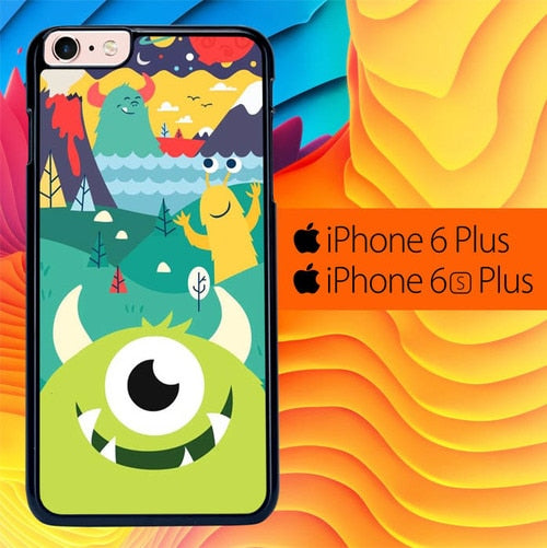 Monster Inc Art L2875 fundas iPhone 6 Plus, 6S Plus