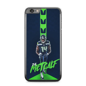 Metcalf Seattle Seahawks L3039 fundas iPhone 6 Plus, 6S Plus