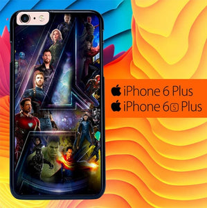 Avengers IW L3076 fundas iPhone 6 Plus, 6S Plus