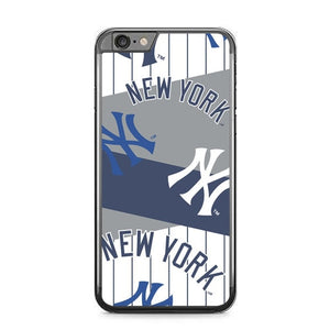 New York Yankees Pattern Logo L3094 fundas iPhone 6 Plus, 6S Plus