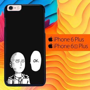 One Punch Man Saitama L3152 fundas iPhone 6 Plus, 6S Plus