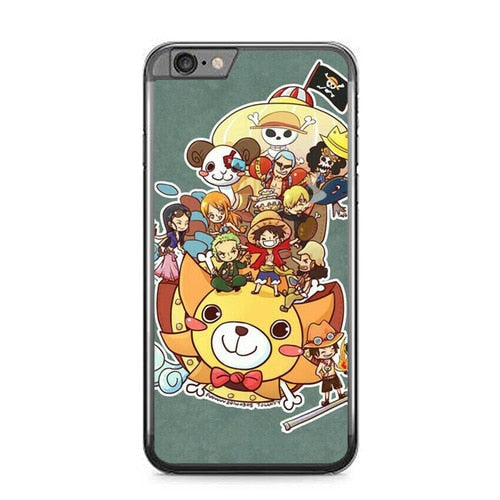 Luffy Crew Chibi L3240 fundas iPhone 6 Plus, 6S Plus