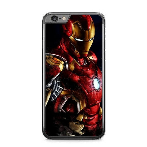 iron man W9014 fundas iPhone 6 Plus, 6S Plus