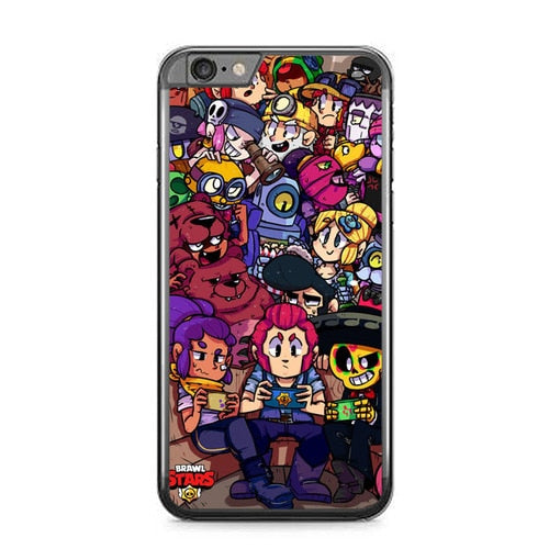 brawl stars W9131 fundas iPhone 6 Plus, 6S Plus