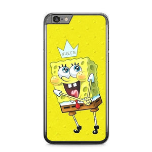 spongebob W9376 fundas iPhone 6 Plus, 6S Plus