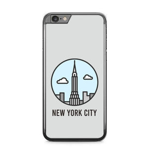 New York City P1847 fundas iPhone 6 Plus, 6S Plus
