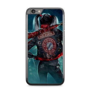 Harley Quinn With FC Bayern Munchen Jacket P1886 fundas iPhone 6 Plus, 6S Plus