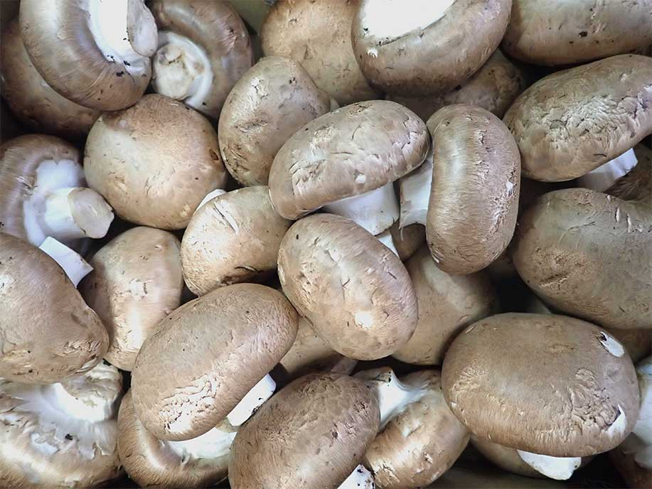 Brown Button Mushroom - Hei Mogu 400g - SGWetMarket