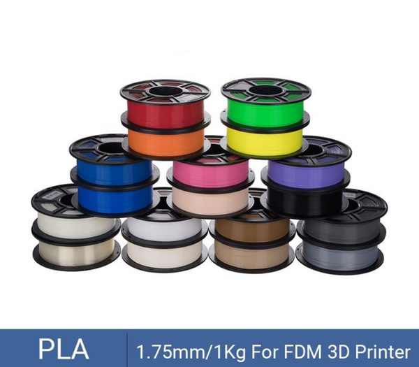 PLA Filament 1.75mm Plastic For 3D Printer 1kg/Roll Neat Spool No tangle Print Smoothly Material for Printing