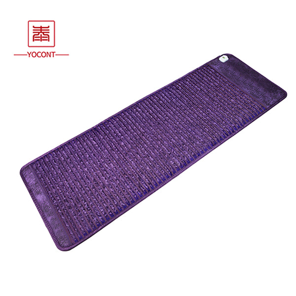 Yocont Korea Medical Shiatsu Heating Massage Far Infrared Amethyst Heating Mattress