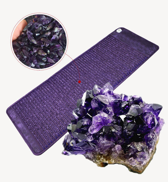 Medical Shiatsu Heating Massage Far Infrared Amethyst Heating Mattress