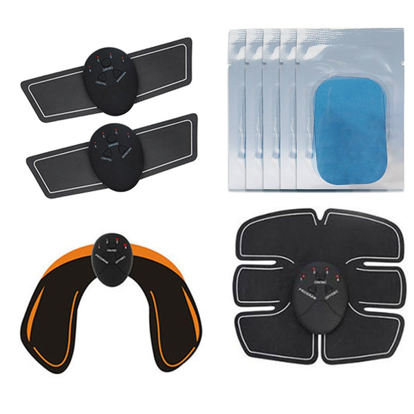 EMS Hip Muscle Stimulator Fitness Abdominal Trainer Weight loss Body Slimming Massage Dropshipping New Arrival