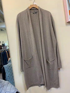 M Made in Italy Taupe Duster Cardi