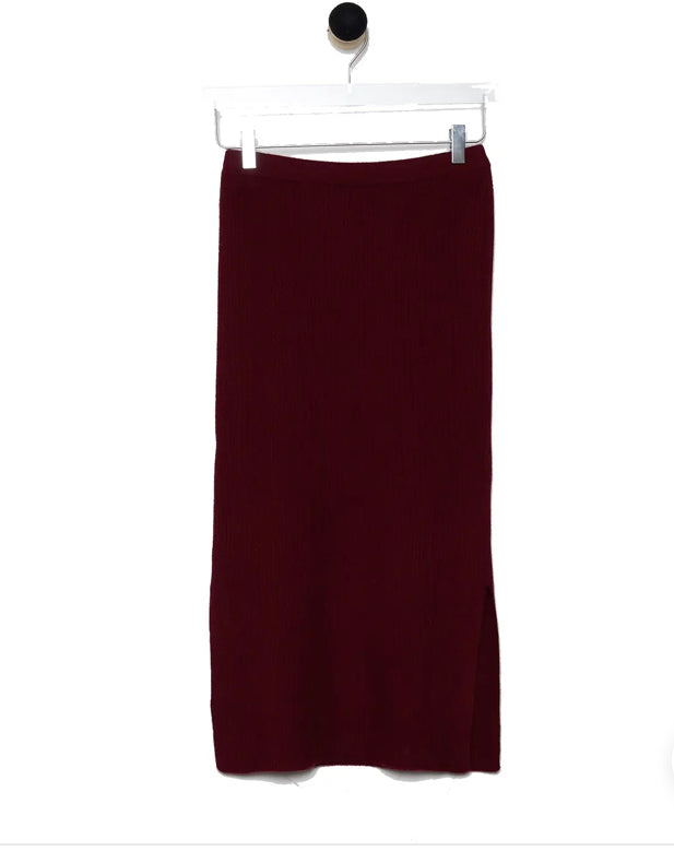 Revive Cashmere Pencil Skirt