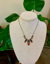 Load image into Gallery viewer, Firefly #7 Diva Three Drop Necklace