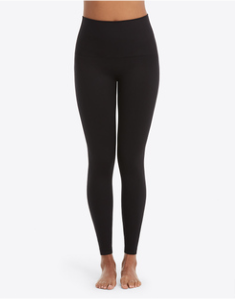 SPANX Look At Me Now Leggings Very Black