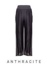 Load image into Gallery viewer, Made in Italy Anthracite Silk Pant