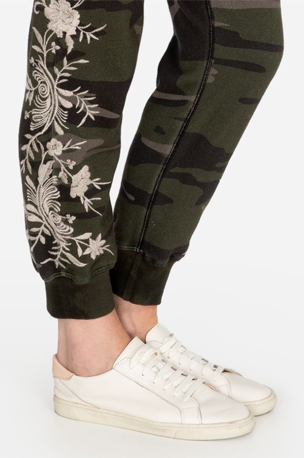Johnny Was Sequoia Camo Jogger