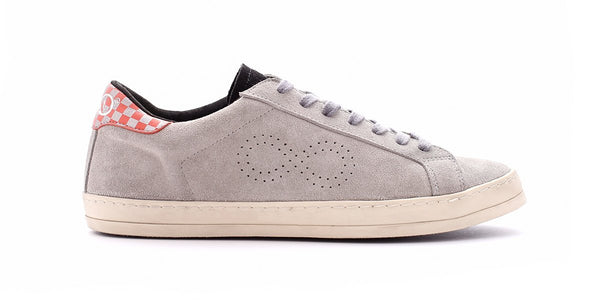 Rubrics Low  Suede Grey/Orange