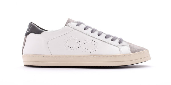 Rubrics Low Pop White/Dark Blue