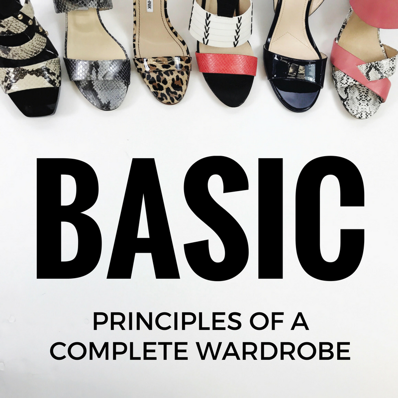 Basic Principles of a Complete Wardrobe