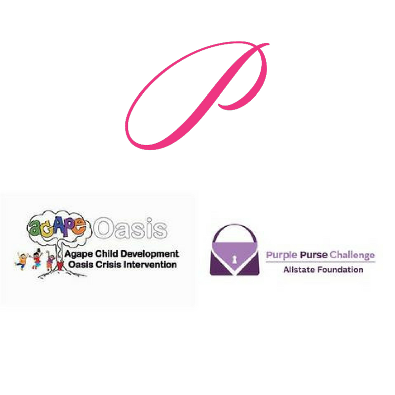 Agape Oasis + Allstate Foundation Purple Purse