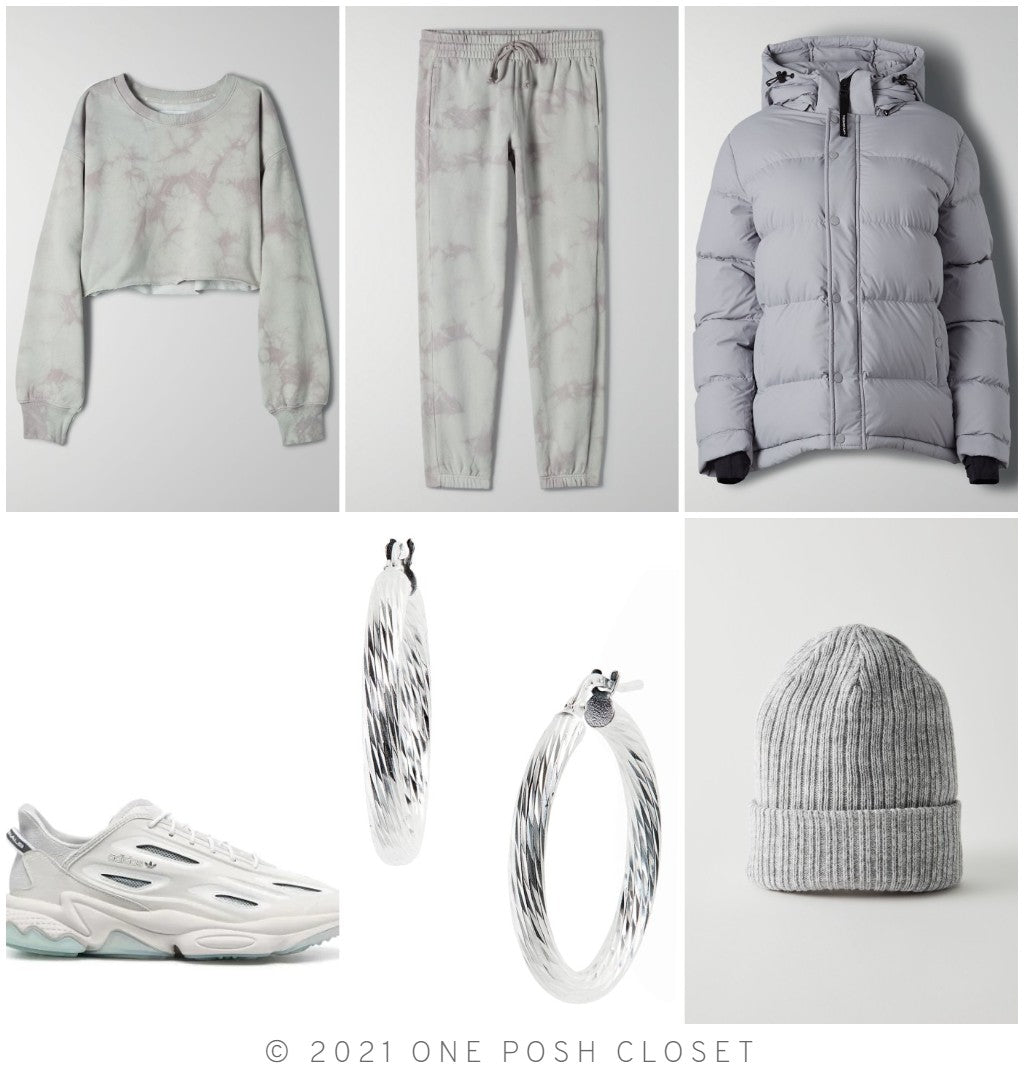 Monochromatic Grey Outfit