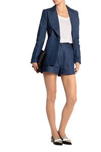 Topshop Unique Denim Blazer