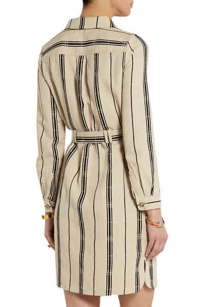 Tory Burch Emilynn Striped Shirtdress