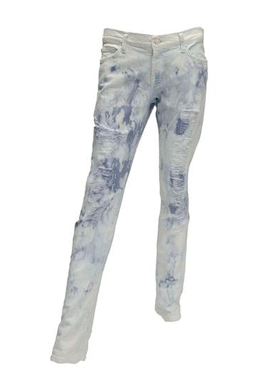 7 For All Mankind Distressed Skinny Jean