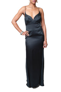 Nicole Miller Collections Silk Panel Gown